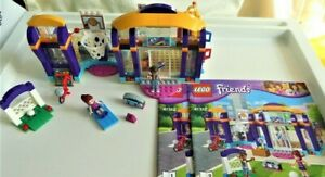 LEGO Friends Set 41312 Heartlake Sports Centre with Manuals - Football Subbed