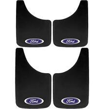 4 Piece Ford Oval LOGO Mud Flaps Set 9X15 & 11X19