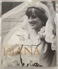 A DRESS FOR DIANA FIRST EDITION UK HARDCOVER BOOK WEDDING DRESS!