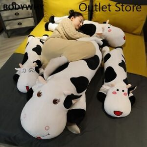 Lovely Milk Cow Plush Toys Soft Stuffed Cartoon Animal Doll Pillow Cushion