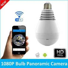 360 Panoramin Smart Home Safty Wifi VR Camera LED Bulb Security Camcorder V380