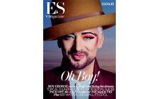 (UK) ES MAGAZINE APRIL 2016 BOY GEORGE CULTURE CLUB PHOTO COVER INTERVIEW
