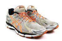 Asics GT 2000 Men's Orange Neon Silver Running Shoes Sneakers Size 12