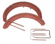 Triumph 3HW 350 CC Front and Rear Mudguards Fender With  Stay Kit  S2u