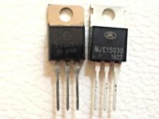 5x MJE15030  + 5x MJE15031 Complementary  Power Transistor LOT OF 5 PAIRS