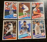 """2020 Topps Series 1 """"1985 Design"""" Complete Your Set  FREE SHIPPING 5 or MORE!!"""