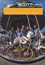 CYCLISME carte équipe cycliste SCOTT world mountain bike team