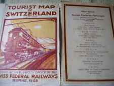 1920-1929 Date Range Antique Europe Folding Maps