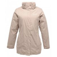 REGATTA LADIES BLANCHE II WATERPROOF INSULATED JACKET BARLEY WHITE RWP168