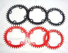 Platos y coronas de aluminio para bicicletas