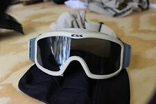 ESS USGI BALLISTIC MILITARY GOGGLES TAN LOW PROFILE 1 LENSE VGC ITEM IS PICTURED