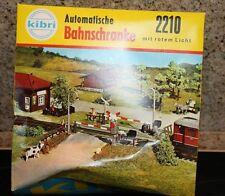 Kibri 2210 bahnschranke automática con luz roja Kindler Briel juguetes K