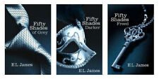 The 50 Shades of Grey trilogy Books - Book 1, 2 and 3, separate - Used in VG