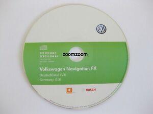 Genuine VW RNS 310 Satnav Navigation CD FX V3 2011 Germany Germany Seat Skoda