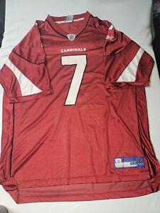 Matt Leinart #7 Arizona Cardinals NFL Reebok Jersey  Men's 2XL
