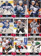 16/17 2016-17 Upper Deck AHL Red Parallel Adam Erne #90 Lightning SP