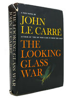 John Le Carre THE LOOKING GLASS WAR  1st Edition 4th Printing