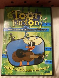 Toon Factory Daffy Duck Daffy Duckaroo (DVD, Digiview) Over 2 Hours, 18 Episodes