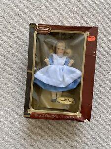 "NIB Vintage Horsman Walt Disney's Classics Alice in Wonderland Doll 8"" 1071"