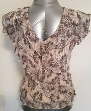 Ladies PER UNA size 14 2 PIECE top.  Lacey look smart and versatile. Fab cond