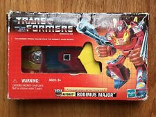 Transformers G1 Rodimus Major Commemorative Series 1 Reissue Hot Rod Prime