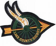 Lake County Sheriff Motors Florida Police patch Florida FL