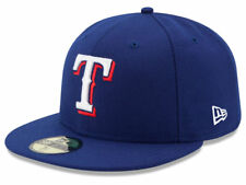 New Era Texas Rangers GAME 59Fifty Fitted Hat (Royal Blue) MLB Cap