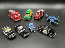 LOT Of 8 Disney Pixar Planes Cars Rescue Firetruck Police tankers