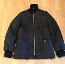 Diesel Ladies Puffer Puffa Puffy Bubble Jacket Coat Black Small