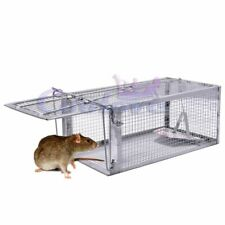 1 Door Humane Live Animal Mouse Cage Traps for Small Rodent Animals Rat Mole