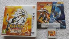 POKEMON SUN NINTENDO 3DS V.G.C. FAST POST ( RPG game & complete )