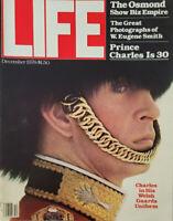 Life Dec 1978 Vtg Magazine Osmond Show Biz - Prince Charles - Eugene Smith NoML