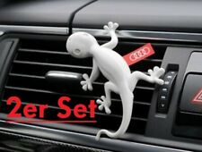 "2x Original Audi Duftgecko 000087009A hellgrau Duftnote ""Kiefernadeln Orange"""