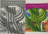Grade 4 Language Arts Handbook & Answer Key 4th Curriculum Homeschool Harcourt