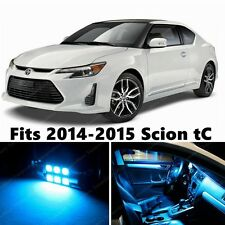 9 x Premium ICE BLUE LED Lights Interior Package Kit for Scion tC 2014-2015