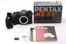 """Mint"" ""in Box"" Pentax MZ-S Black 35mm SLR Film Camera Body From Japan D325"
