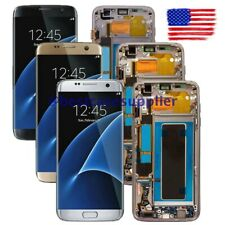 For Samsung S7 Edge SM-G935A G935T G935V G935P/F LCD Display Touch Screen Frame