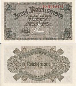 Reichskreditkassen, 2 Reichsmark o.D.(1939), Ros.552a, ksfr.