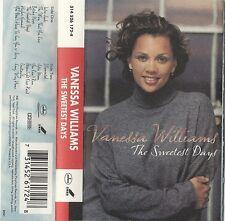 R&B ~ The Sweetest Days - Vanessa Williams (Cassette, 1994) Island Mercury ~ VG