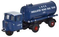 Oxford Commercial 1/76   Scammell Mechanical Horse Tanker (LNER) 76MH018