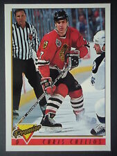 NHL 237 Chris Chelios Chicago Blackhawks Premier 1993/94