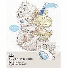 DMC Me to You Tatty Teddy Printed Cross Stitch Fabric Kit - Unicorn