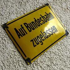 BUNDESBAHN Altes Emailschild 50er SELTEN RAG DB BR 80 Betriebs Lok RUHRKOHLE AG