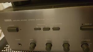 Yamaha HiFi Anlage Titan mit 2 4-Wege Holz-Stand Lautsprecherboxen