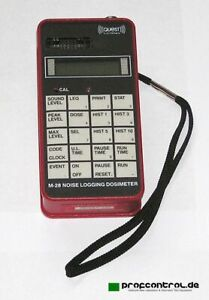 Quest M-28 Noise Logging Dosimeter 30 - 146 DB With Ul Intrinsic Safety