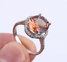 SULTAN CHANGING COLOR STONE .925 SOLID STERLING SILVER RING SIZE 8 #22708