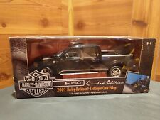 ERTL 2001 FORD F-150 SUPER CREW LIMITED EDITION HARLEY-DAVIDSON® 1/18 SCALE PU