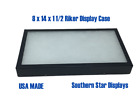 8 x 14 x 1 1/2 Riker Display Case Box for Collectibles Arrowheads Jewelry &More