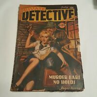 Private Detective July 1943 - Murder Bars No Holds - Roger Torrey Pulp Magazine