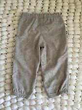 NEW Carter's Baby Boy Everyday Trackie Pants size 6m 12m 24m ** grey
